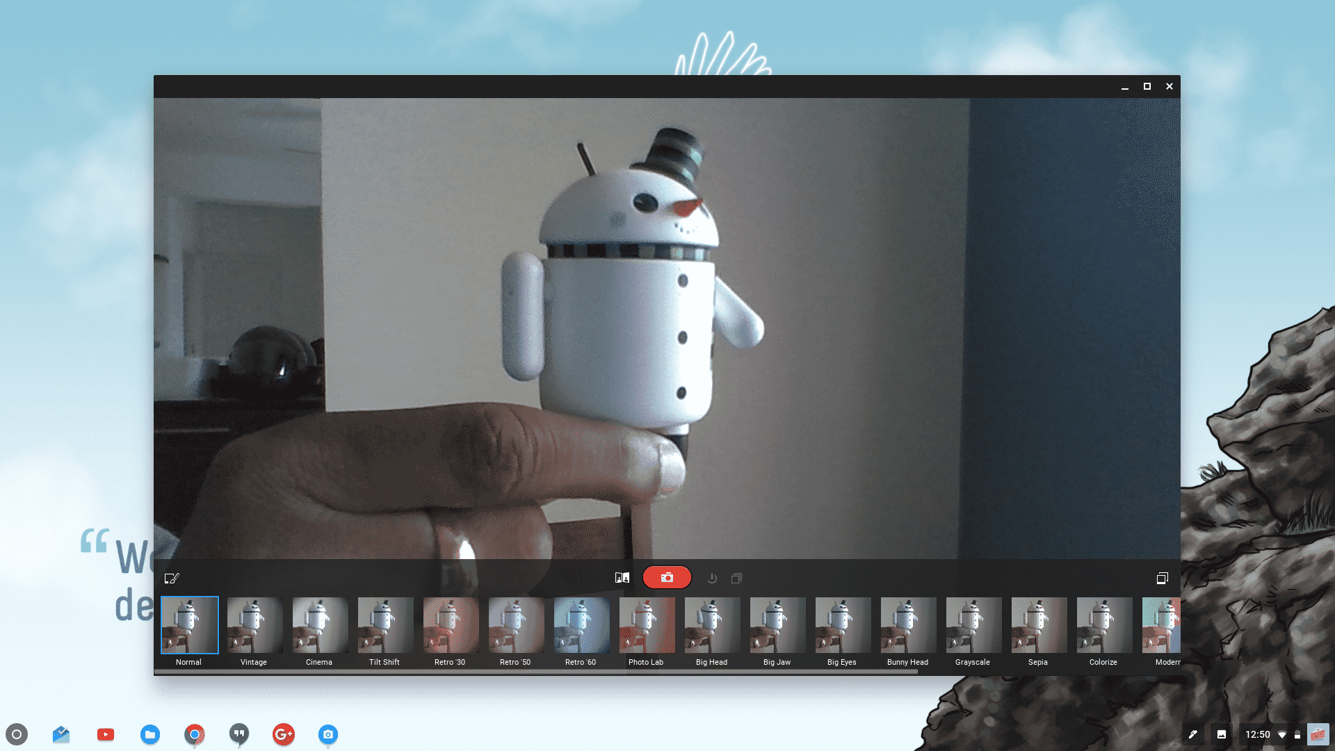 How To Take A Picture Using Chromebook's Camera