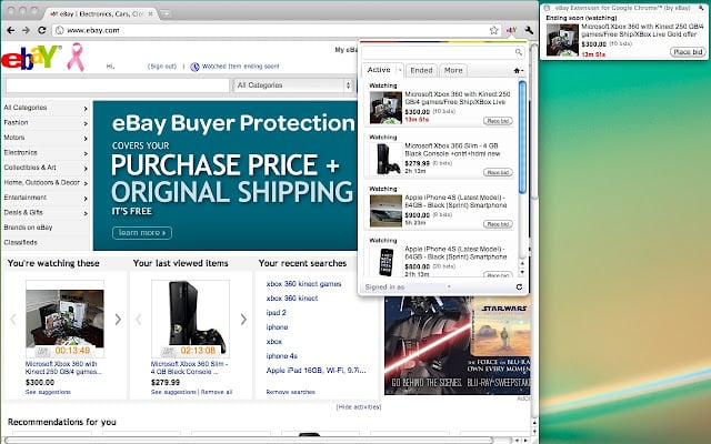 chrome extensions  Official eBay Extension for Google Chrome