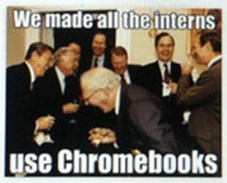 chrome news  Here is How Googlers Made Fun of Chromebooks!!