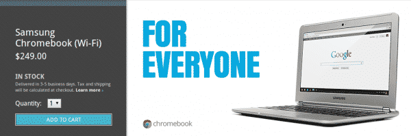 chromebook  Samsung Chromebook Goes On Sale In The Play Store, Quickly Sells Out