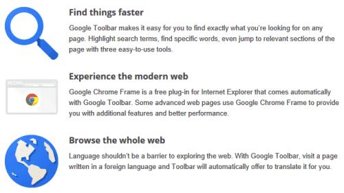 Chrome Frame, Now Bundled With Google Toolbar