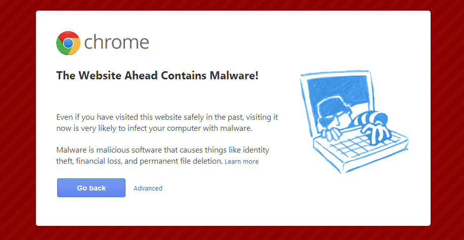 chrome news  Google Chromes Malware Alert Page Gets New Design