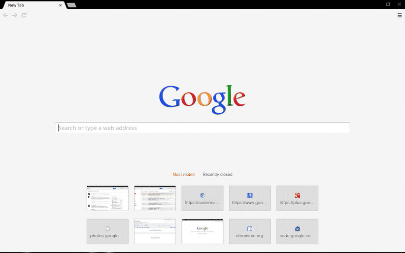 how to make new tabs open with google