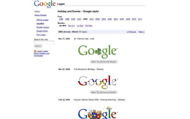 chrome extensions  [Extension] Replace Googles Logo With your Favorite Google Doodle