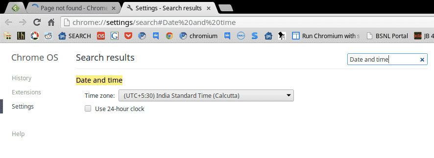 chromebook  Click = Search Settings   Smart Move By Chrome OS Developers