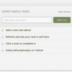 """Super Simple Tasks"" App for Chrome"
