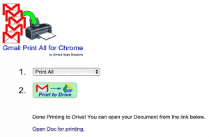 chrome extensions  Select Multiple Emails in Gmail and Make A Google Doc or Print to PDF