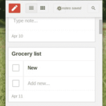 An Unofficial Google Keep Extension for Chrome