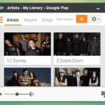 Panel View for Google Play Music – Chrome Extension