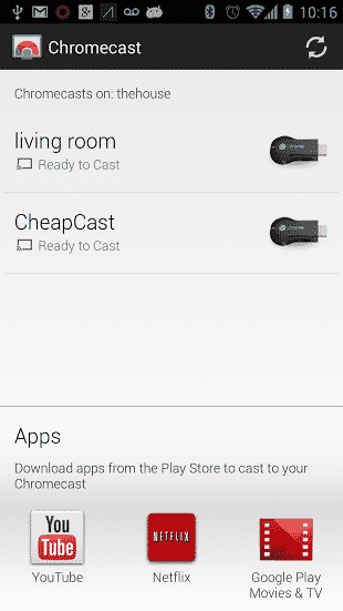 chromecast  Make Nexus Q Your Chromecast Device with Cheapcast