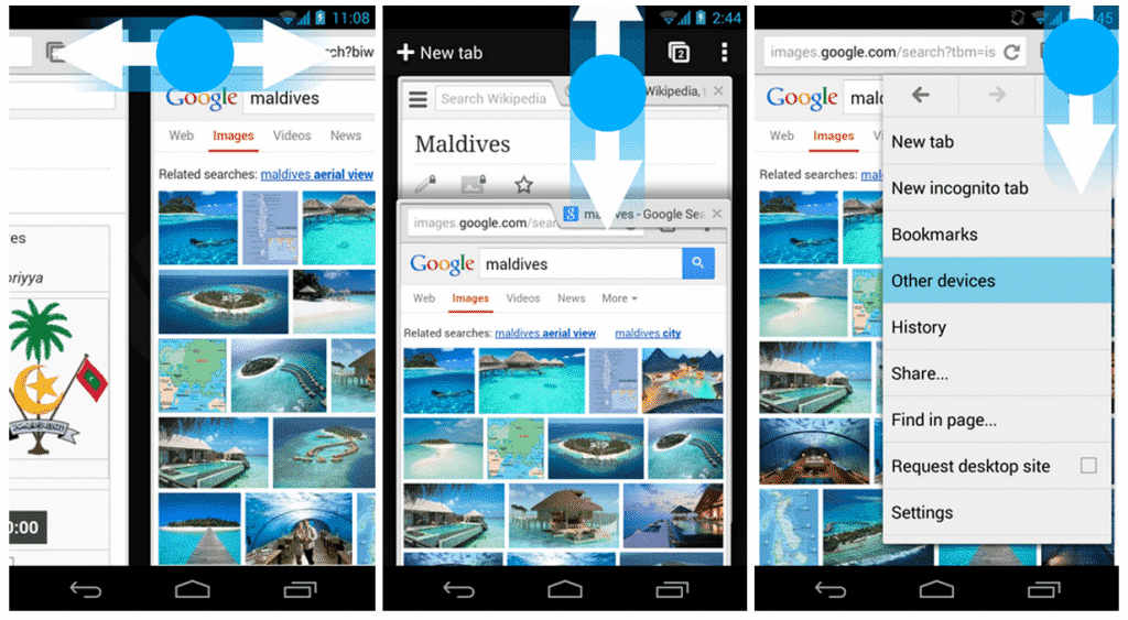 android  Chrome for Android Gets New Gestures and Search By Image