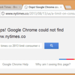 Google Chrome's Navigation Error Pages Gets Redesigned