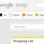 Category Tabs for Google Keep™ Helps You Sort Notes By Category
