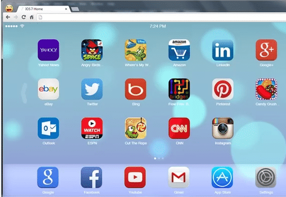 chrome extensions  Get iOS 7 Like New Tab Page for Chrome With This Extension #awesome
