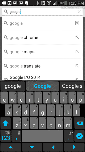 android Chrome for Android Tip Find in Page Easily