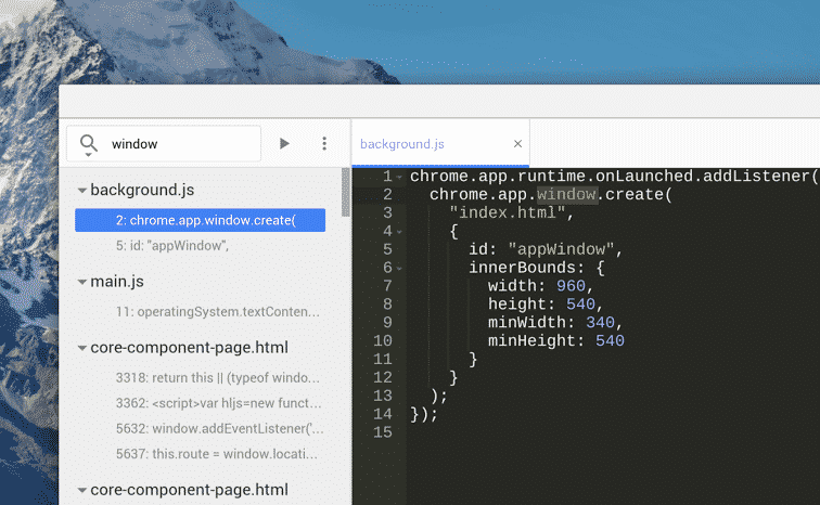 chrome news  Chrome Dev Editor Updated with New Features