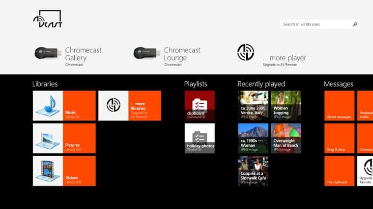 Chromecast Apps for Windows 10 - Chrome Story