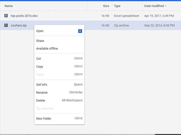 chrome os quotfilesquot app can now archive and unzip files from With documents in google chrome