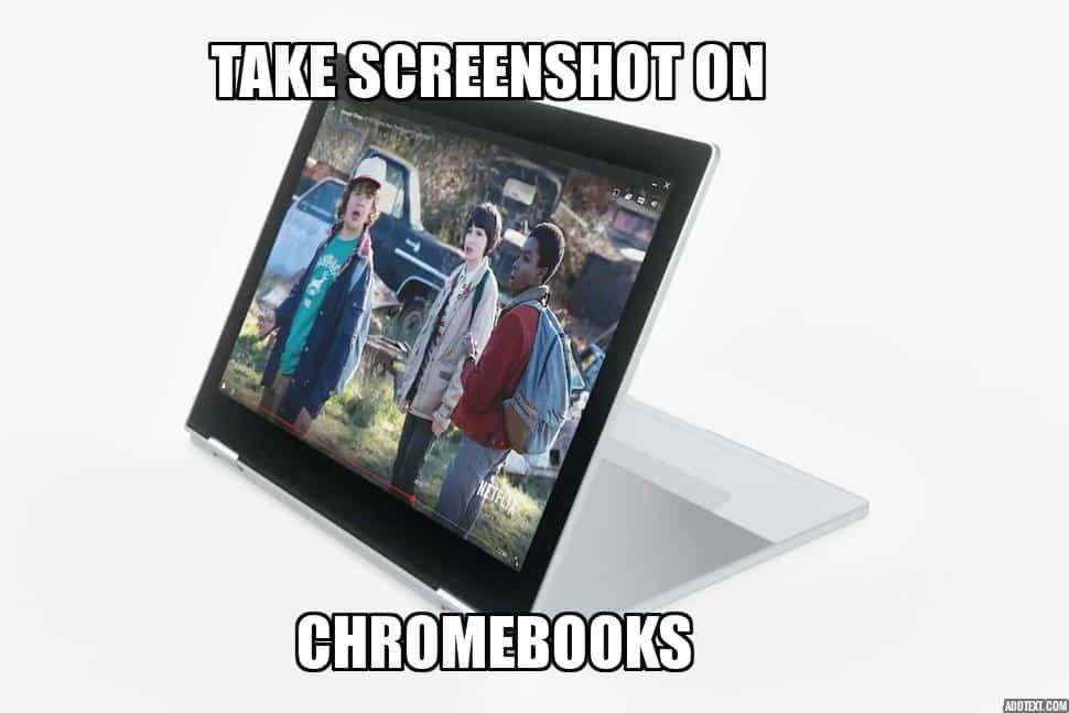Chromebook Screenshot