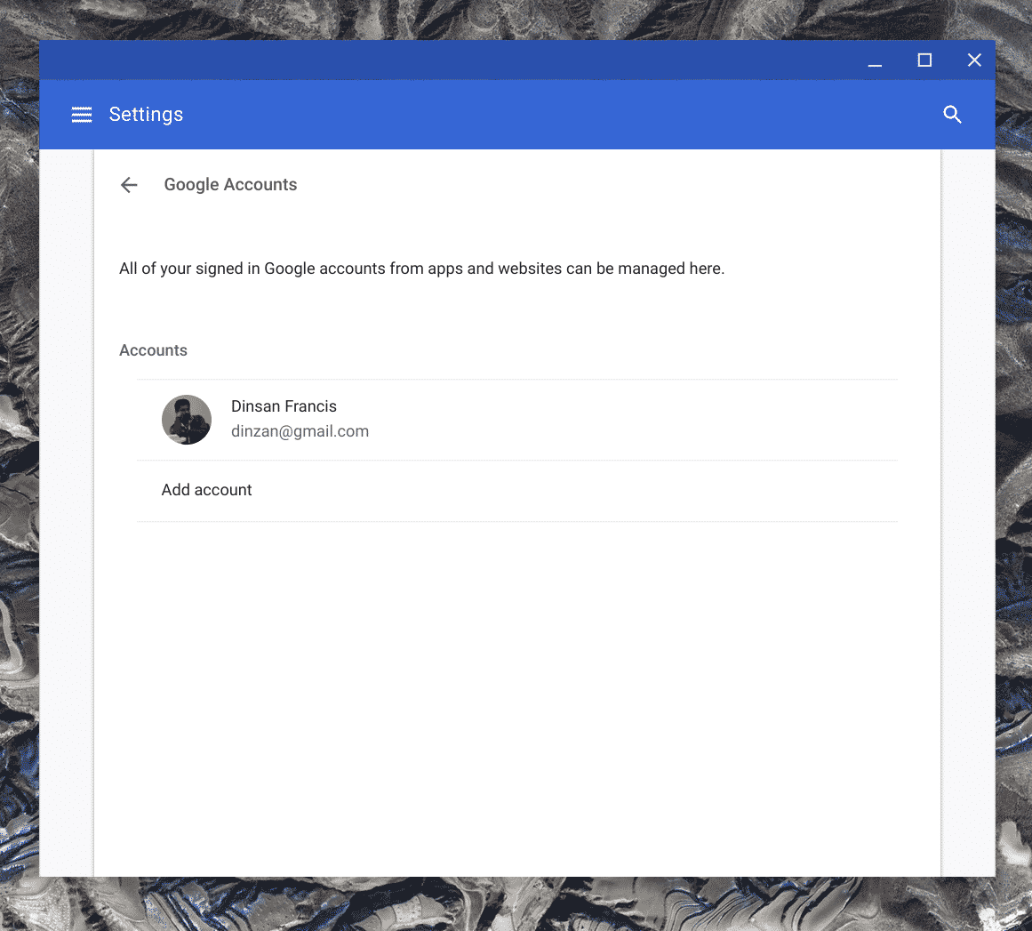 Chrome OS to Support Multiple Google Accounts Per User Profile