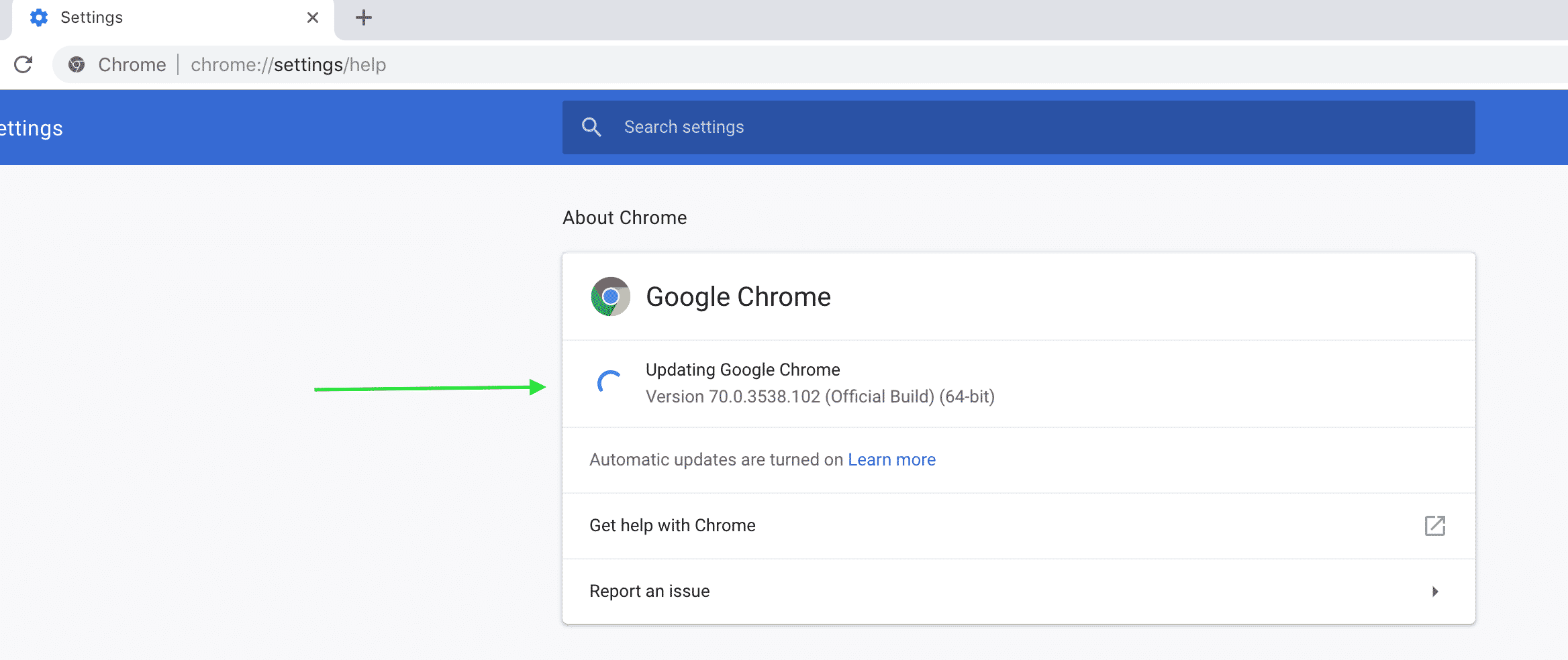 How to Update Google Chrome to the Latest Version - Chrome Story