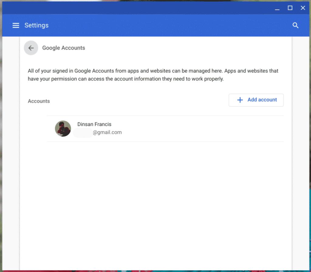 Multiple Google Accounts on Chrome OS - Meet the New Account