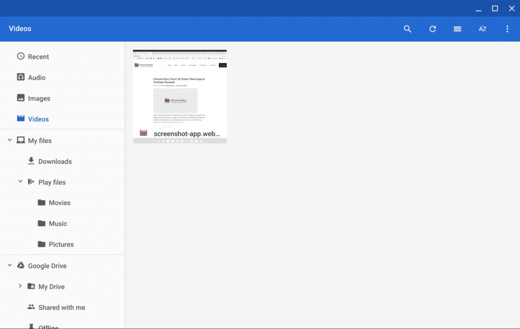 Using Chromebook File Manager - Chrome Story