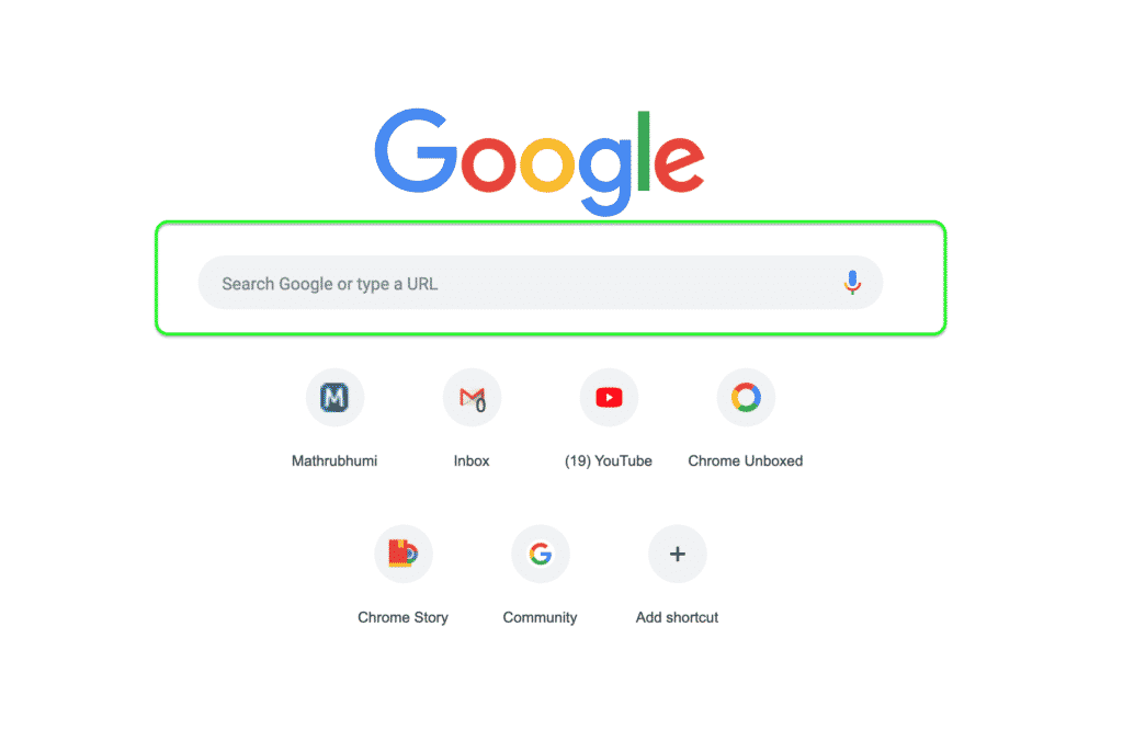 This Chrome Flag Removes the Search Box From New Tab Page