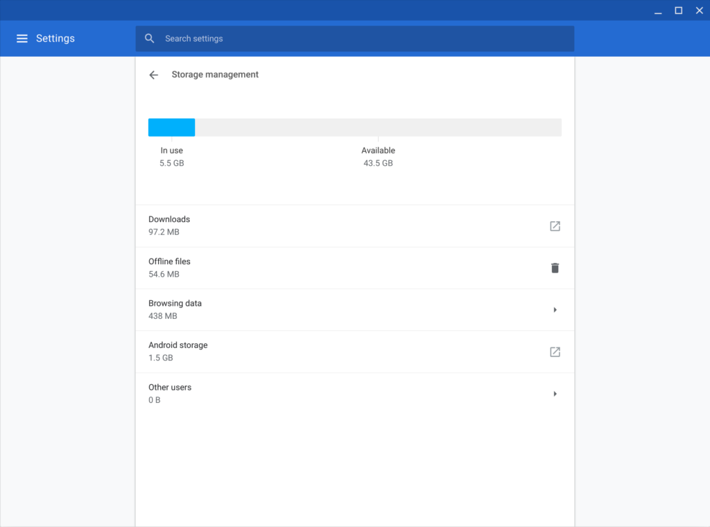 Chromebook Settings Explained - Chrome Story