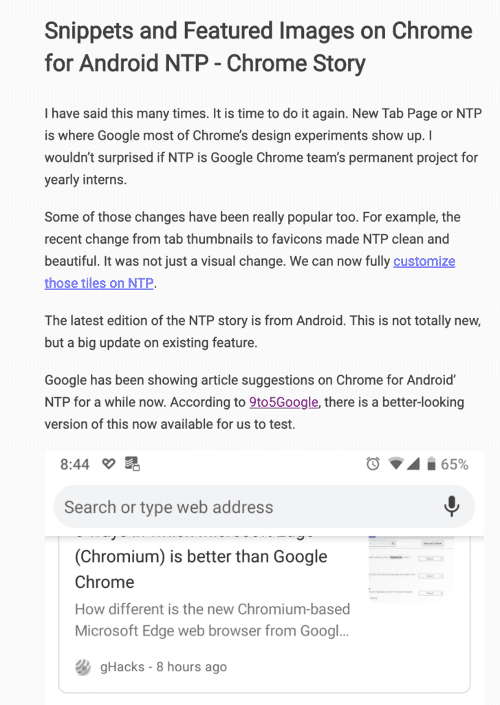 How to use Reader Mode on Chrome - Chrome Story