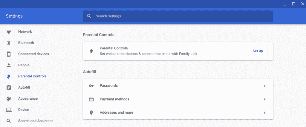 Family Link' Parental Control Settings Added to Chrome OS