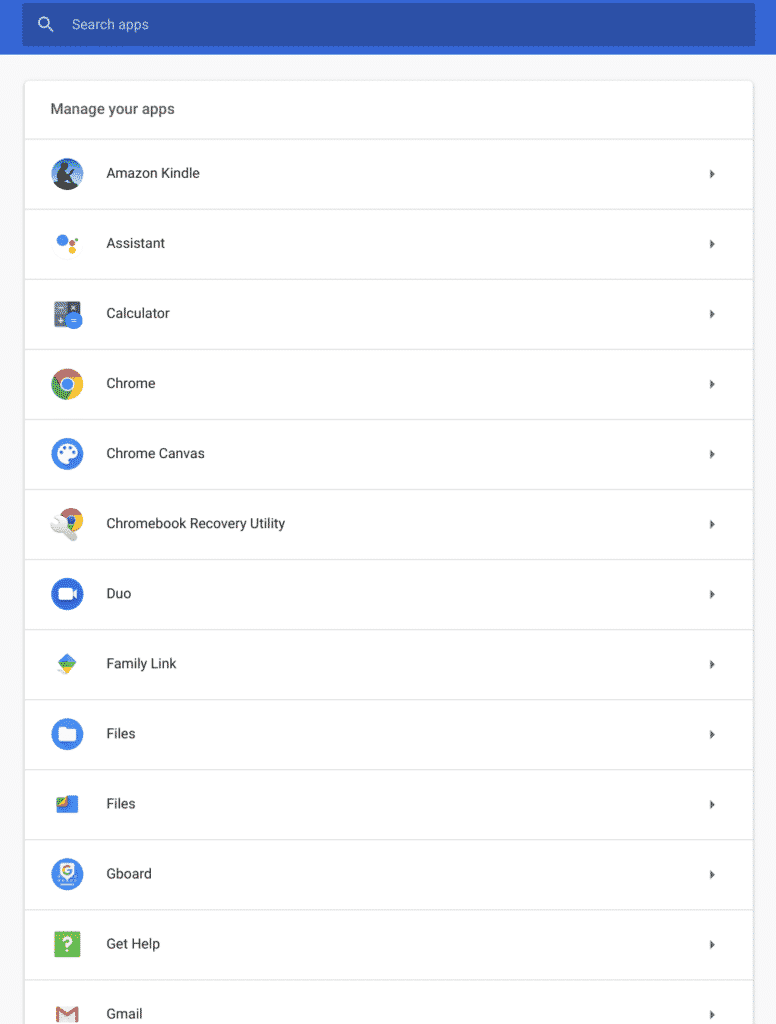 Chrome OS App Management Makes It Easy to Manage Permissions