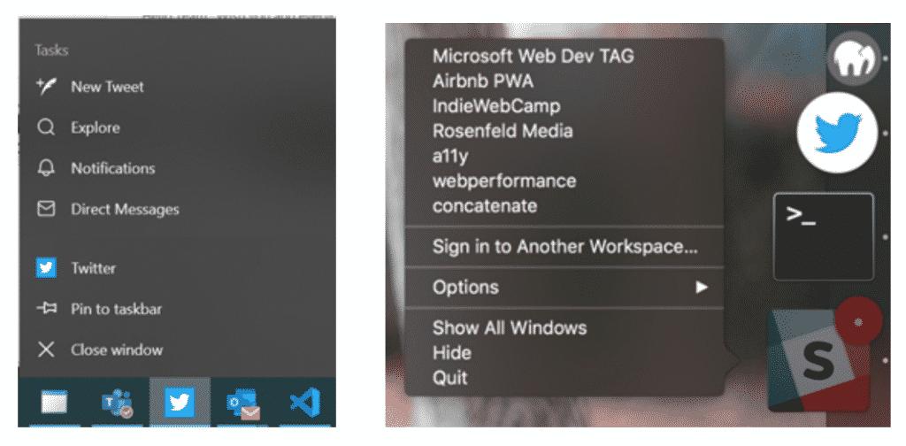 App Shortcuts on Windows